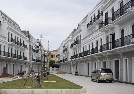 Dự án khu nhà ở thương mại Vincom đem đến một diện mạo mới cho thành phố Đồng Hới.
