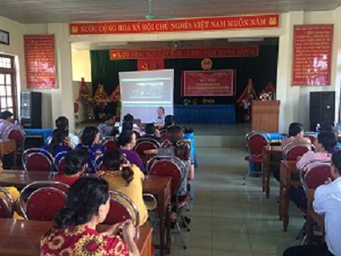 Dạy nghề cho lao động nông thôn ở huyện Quảng Ninh (Quảng Bình)