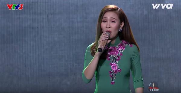 Vì quá yêu ca hát nên dù mới sinh con được 2 tháng, Thanh Lan vẫn quyết định ghi hình tại chương trình.