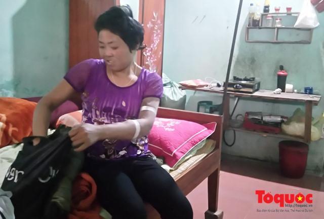 Bệnh tật đã lấy đi tuổi thanh xuân, ước mơ, hoài bão của chị Nguyễn Thị Thương.