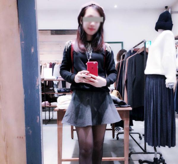Hình ảnh Phạm Thị Hòa trước khi bị đột quỵ tại Nhật.