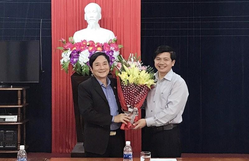 Ông Phong được điều động giữ chức vụ phó giám đốc Sở VH-TT tỉnh Quảng Bình. Ảnh: Sở VH-TT