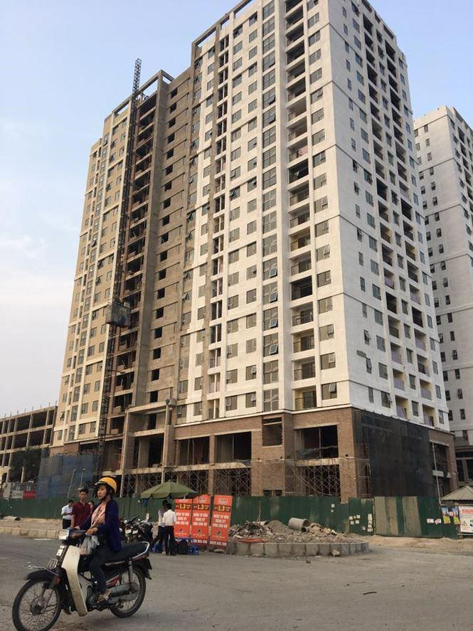 Dự án NOXH số 987 Tam Trinh (Hà Nội), gần bàn giao nhà nhưng đến nay cư dân vẫn chưa được vay vốn ưu đãi..