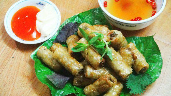 Món ăn từ đẻn biển Quảng Bình