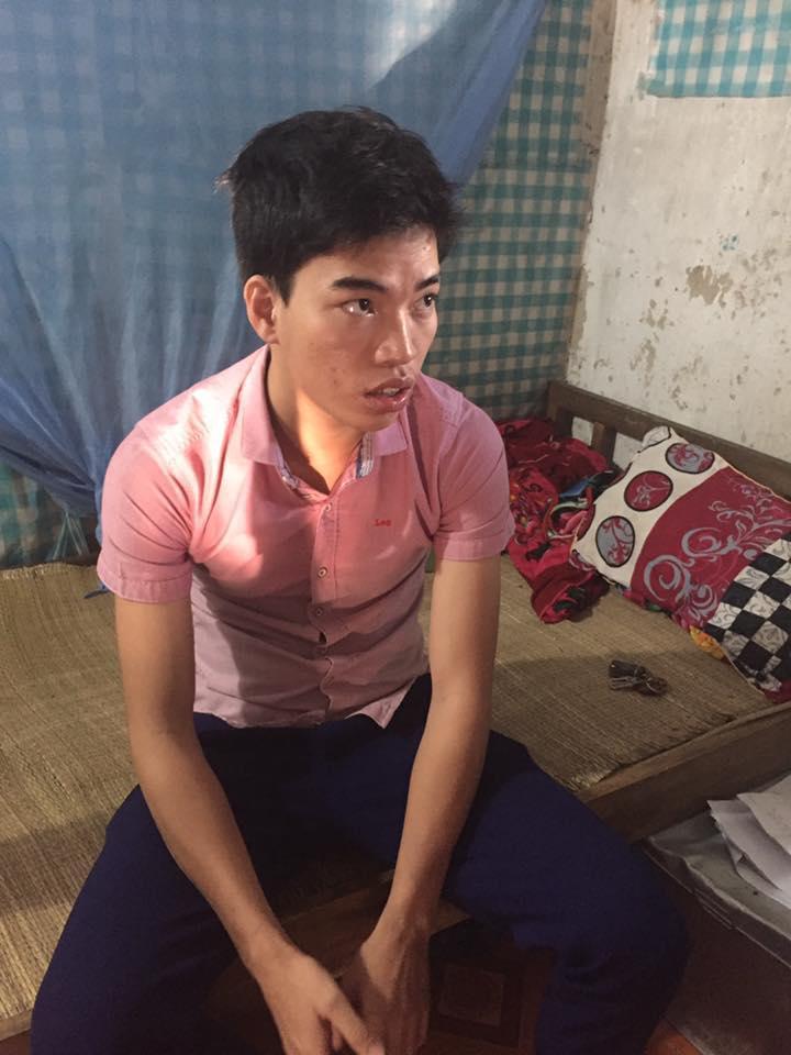 Lên 7 tuổi, Tuấn trở thành đứa trẻ mồ côi cả cha lẫn mẹ - Ảnh: Hoàng Cát