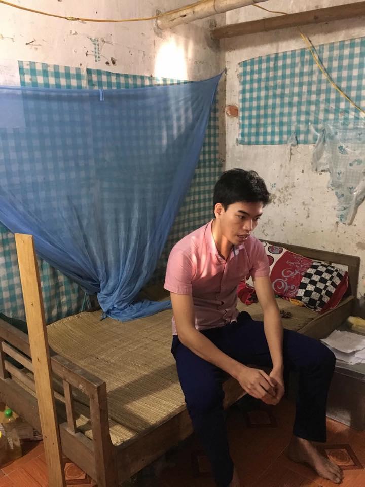 Hiện Tuấn đang là sinh viên năm 3 trường Đại học Y khoa- Ảnh: Hoàng Cát