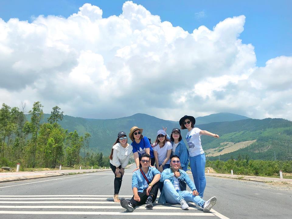 Duy Anh và các bạn đã có chuyến đi thú vị tại Quảng Bình