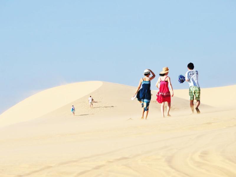 Cồn cát Quang Phú (nguồn: quangbinhtravel)