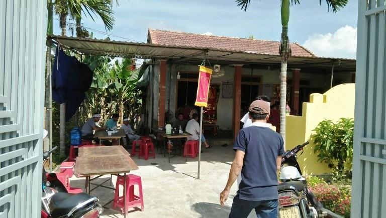 Ngôi nhà của vợ chồng Tân.