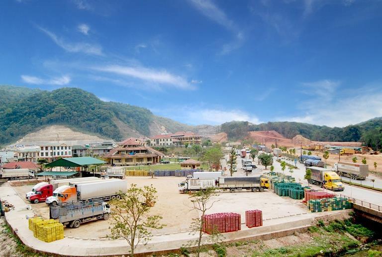 Khu vực cửa khẩu quốc tế Cha Lo - Quảng Bình (Ảnh: baodautu.vn)