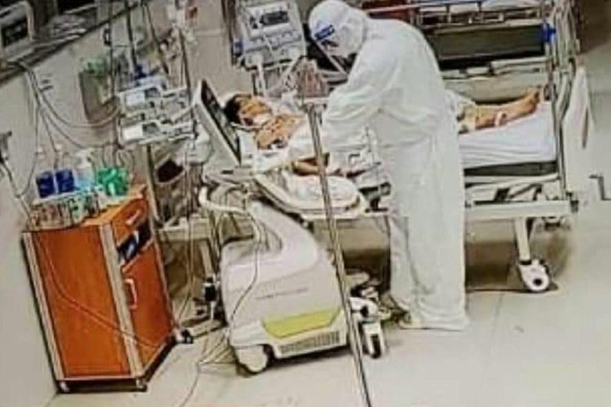 Bệnh viện Hữu nghị Việt Nam - Cu Ba Đồng Hới là cơ sở điều trị bệnh nhân COVID-19 tuyến cuối, bệnh nhân nặng tại Quảng Bình. Ảnh: CTV