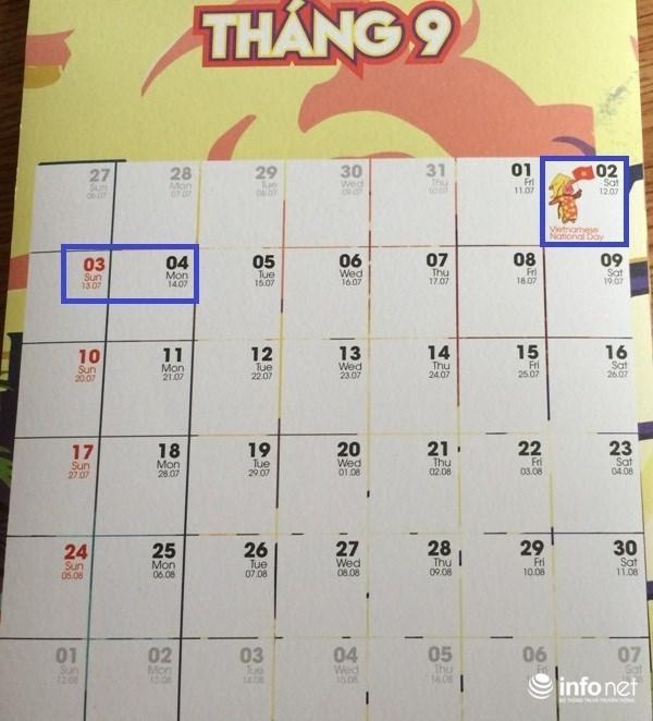 Cán bộ công chức, viên chức và người lao động sẽ được nghỉ 3 ngày liền trong dịp lễ Quốc khánh 2/9 năm nay. (Ảnh: Minh Thư)