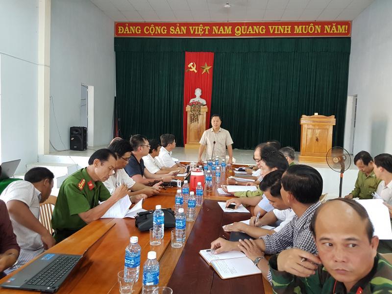 Sau buổi khảo sát, ông Lê Trí Thanh yêu cầu cơ quan chức năng tiếp tục điều tra, xác minh để khởi tố các vụ phá rừng còn lại ở khu vực này để tạo tính răn đe