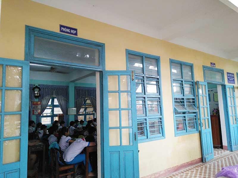 TX Điện Bàn (Quảng Nam): Học sinh tăng đột biến, trường lớp quá tải