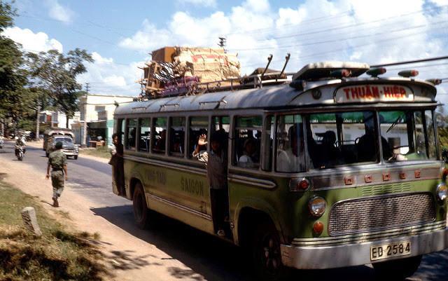 Xe khách Sài Gòn - Vũng Tàu của nhà xe Thuận Hiệp. Ảnh tư liệu.