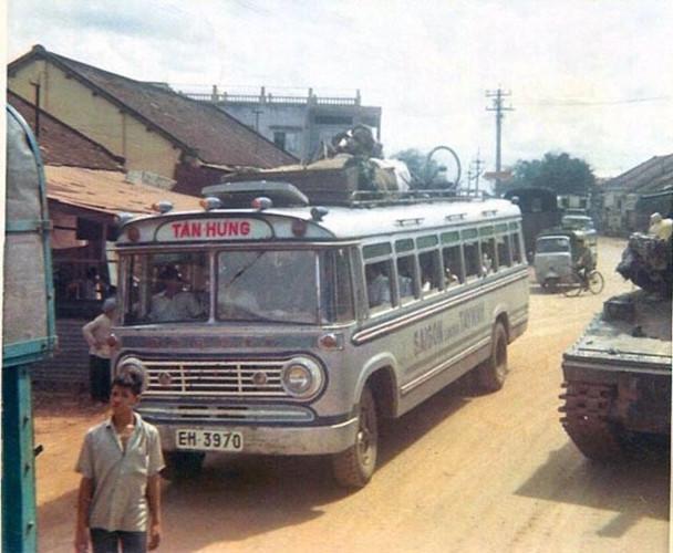 Xe khách chạy tuyến Sài Gòn - Tây Ninh của nhà xe Tân Hưng. Ảnh tư liệu.