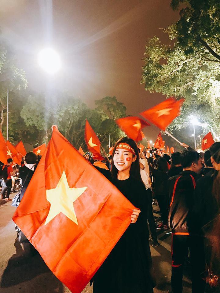 Đỗ Mỹ Linh là một fan bóng đá đích thực.