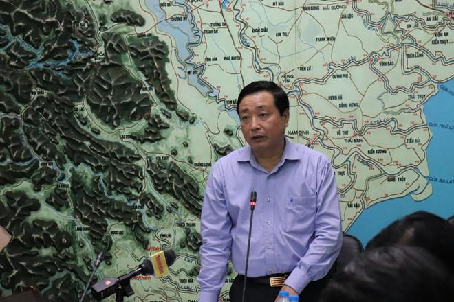 Ông Trần Quang Hoài, Tổng cục trưởng Tổng cục Phòng chống thiên tai. Ảnh: Phongchongthientai.