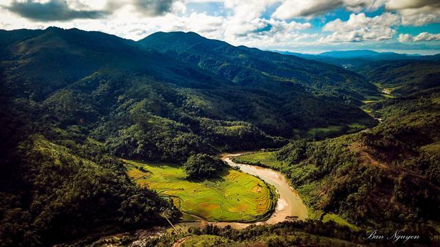 Măng Đen cách TP Kon Tum chừng 50 km. Ảnh: Ban Nguyen.