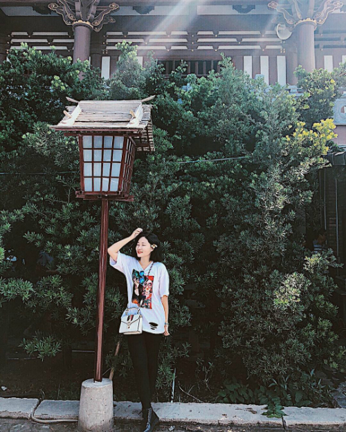 Một góc tu viện Khánh An gợi nhớ về những ngôi chùa cổ ở Nhật. Ảnh: myha-ng