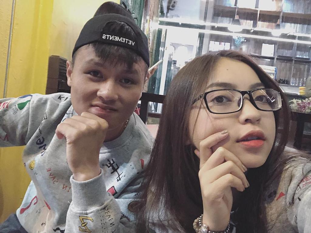 Người yêu Quang Hải hiện là gương mặt thương hiệu cho nhiều nhãn hàng nhờ nhan sắc xinh đẹp và lượng người theo dõi lớn. Ảnh: Instagram NV.