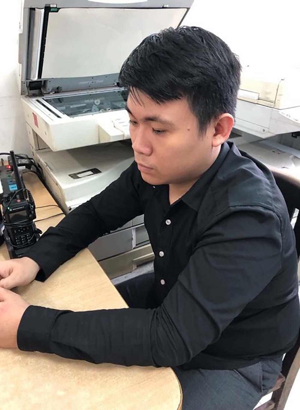 Nguyễn Thanh Phú - quản lý nhà hàng Happy