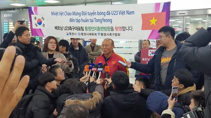 HLV Park Hang-seo gửi lời tri ân CĐV Hàn Quốc đã dành sự cổ vũ cho bóng đá Việt Nam.