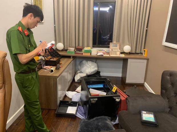 Công an khám nghiệm vụ trộm nhà ca sĩ Nhật Kim Anh.