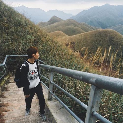 Bản Sông Moóc ở Bình Liêu tuyệt đẹp nhìn từ trên cao. Ảnh: FB Binh Lieu Travel Guide