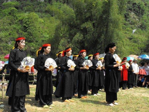 Lễ hội Nàng Hai của người Tày Cao Bằng. Ảnh: Chu Đức Hòa