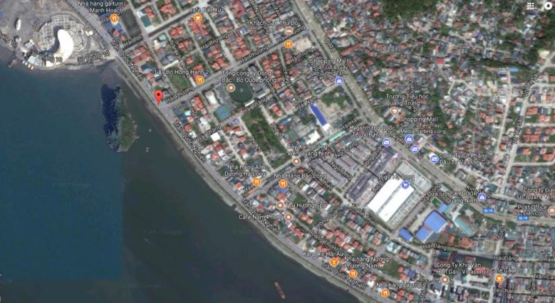Bản đồ khu vực đường Trần Quốc Nghiễn, Hạ Long.