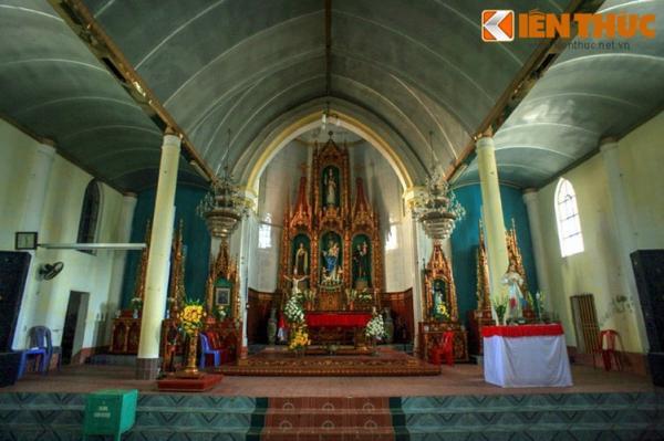 Ngày nay, nhà thờ Trà Cổ là điểm tham quan nổi tiếng của vùng đất Móng Cái.