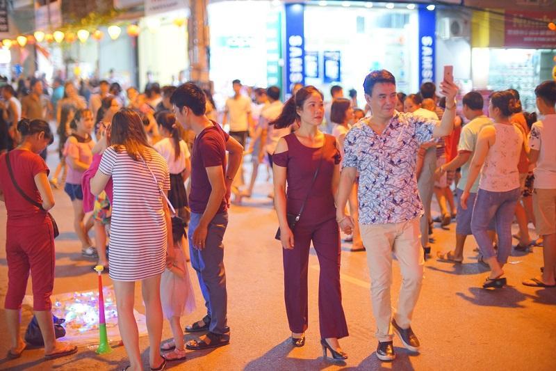 Phố đi bộ hứa hẹn sẽ trở thành một địa điểm tham quan - giải trí nổi tiếng của khu vực Đông Bắc tỉnh Quảng Ninh