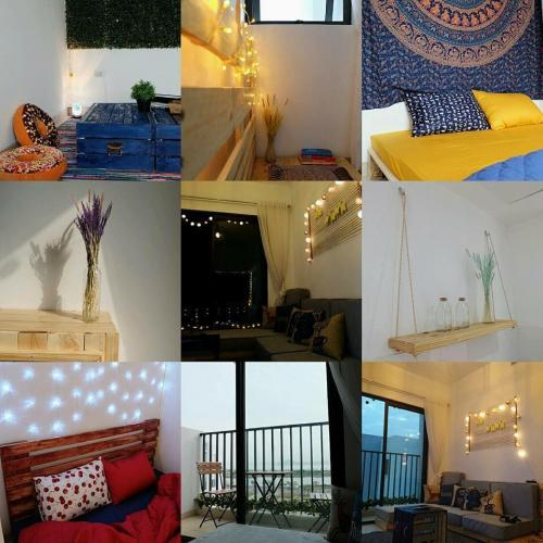 Nội thất ở homestay này đều là đồ tự thiết kế rất đơn giản nhưng tinh tế (Nguồn: Tripnow.vn)