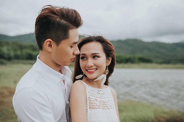 Thu Hương và bạn trai đã yêu nhau được hơn 1 năm.