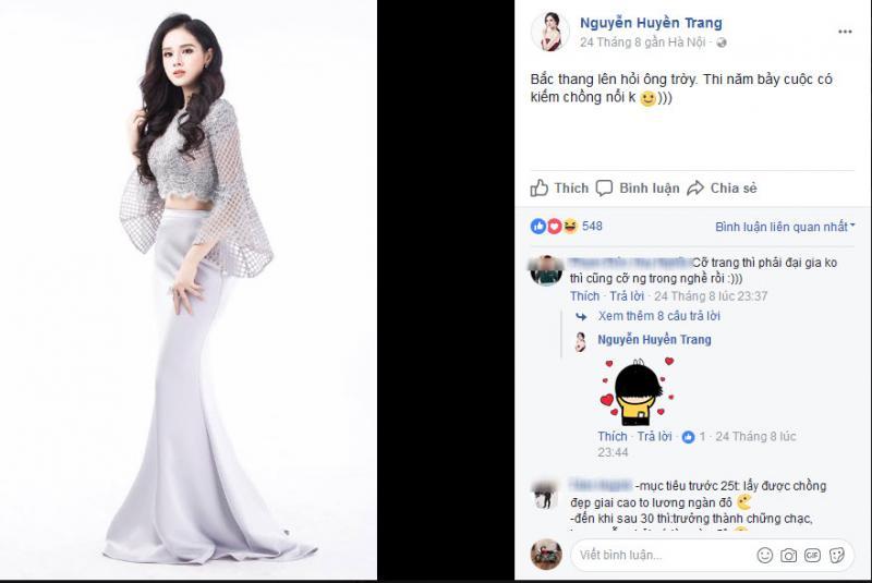 Những status so deep, hài hước và dí dỏm của Nguyễn Thị Huyền Trang.