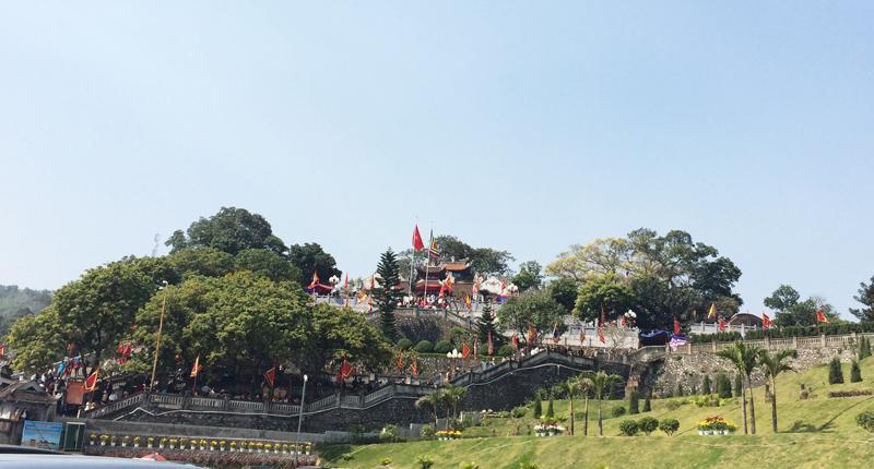 Để phục vụ du khách đến đền Cửa Ông, tỉnh Quảng Ninh đã triển khai dự án mở rộng đền với mong muốn tạo một diện mạo mới cho Khu di tích