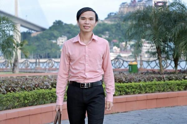 Th.s Đoàn Hùng Cường - nguyên giáo viên Trường Phổ thông dân tộc nội trú huyện Bình Liêu (Quảng Ninh). Ảnh: NVCC
