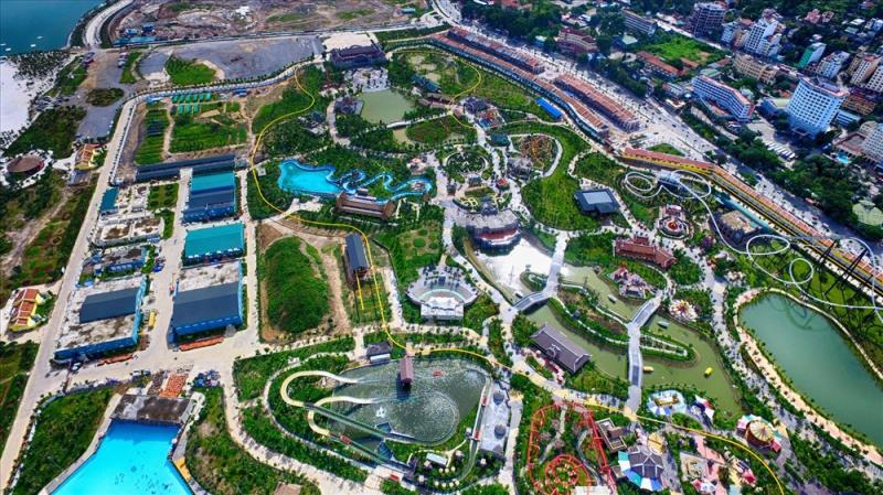 Ảnh 5: Sun World Hạ Long Complex với các công viên chuyên đề, gồm nhiều trò chơi hấp dẫn tại Bãi Cháy.