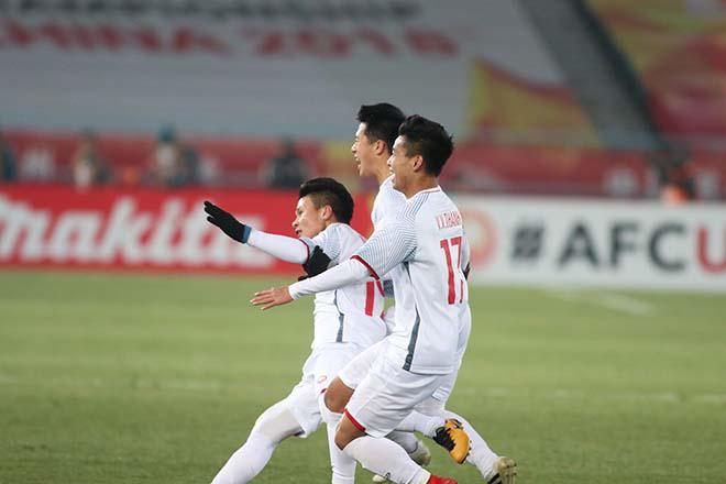 Quang Hải và các đồng đội có nền tảng thể lực rất tốt