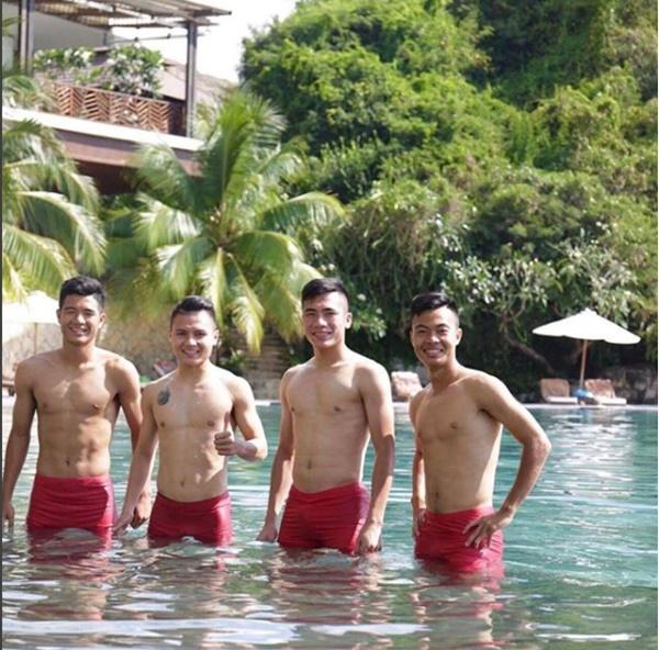 Tuyển thủ sinh năm 1997 và đội U23 Việt Nam có không ít lần nghỉ dưỡng tại các khu resort sang trọng.