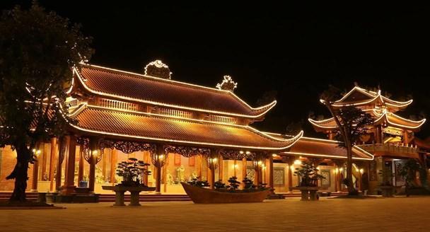 Một góc ở chùa Ba Vàng. (Ảnh: Reatimes)