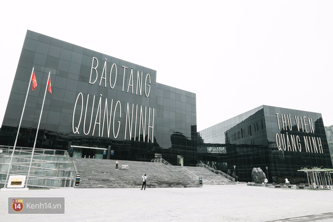 Bảo tàng Quảng Ninh. (Ảnh: kenh14.vn)