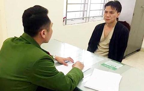 Nguyễn Việc Cường (ca sĩ Châu Việt Cường) tại cơ quan công an