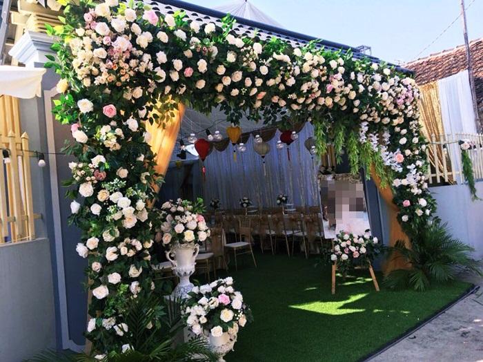 Một không gian tiệc cưới khác. (Ảnhnhân vậtcung cấp).