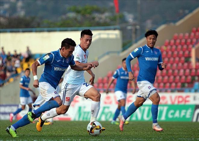 Than Quảng Ninh có chiến thắng đậm trước Quảng Nam tại vòng 4 - Ảnh VPF