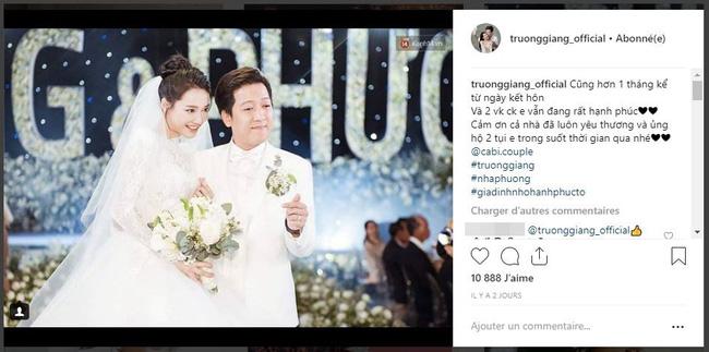 Kể từ sau đám cưới, Trường Giang rất chịu khó kể về cuộc sống hôn nhân.