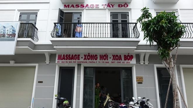 Cơ sở massage Tây Đô