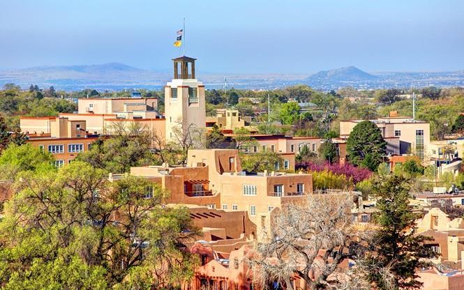 Santa Fe, New Mexico, Mỹ. Ảnh: DENISTANGNEYJR