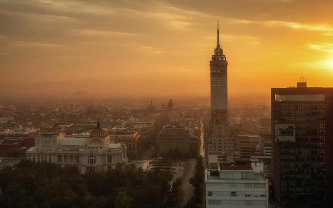 Mexico City. Ảnh: REINIER SNIJDERS/EYEEM/GETTY IMAGES